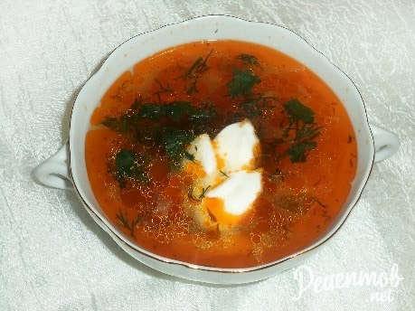 Щи из свежей капусты пошаговый рецепт с с томатной пастой