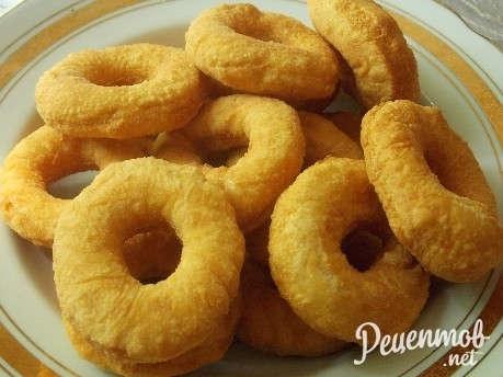 Рецепт пончиков с чесноком пошагово