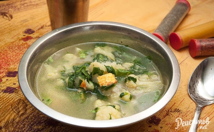 Рецепт приготовления щей из шпината в мультиварке vitek vt-4208 cl