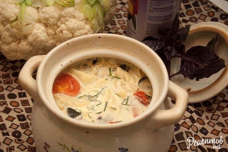 Рецепт лагмана в горшочке