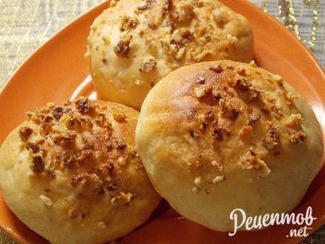 Пирожки дрожжевые с яблоками рецепт с пошагово в духовке